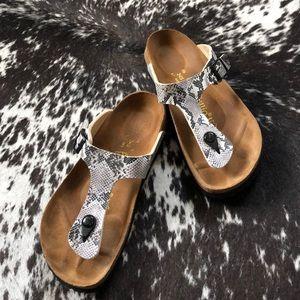 Papillio by Birkenstock Gizeh Sandals Snake 8
